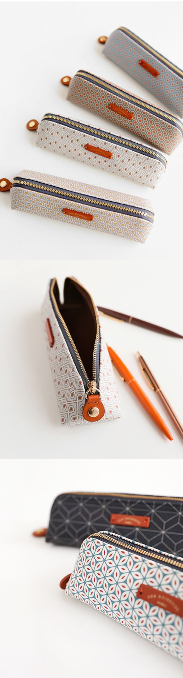 So many beautiful things in this world, and this Retro Pattern Pen Case is one of them!