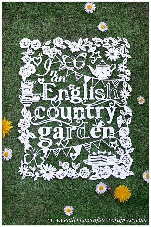 Worldwide Wednesday - Julene Harrison Paper Artist - Garden