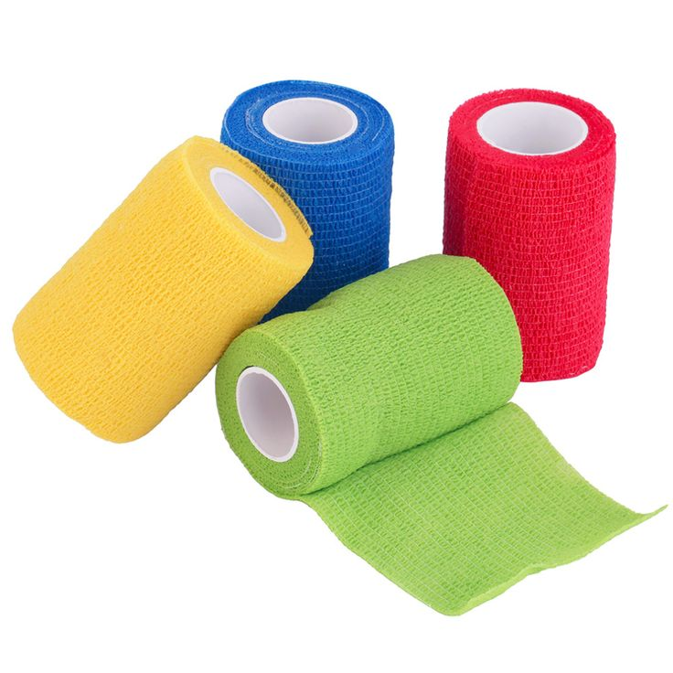 4.5m x 7.5cm Self-Adhering Bandage Wraps Elastic Adhesive First Aid Tape free shipping #clothing,#shoes,#jewelry,#women,#men,#hats,#watches,#belts,#fashion,#style
