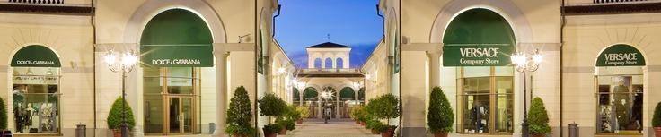 SERRAVALLE DESIGNER OUTLET  located north of Genova (>2 hr drive from Valpe)  Monday - Sunday10am - 8pm  Via della Moda, 1   15069 Serravalle Scrivia (AL)