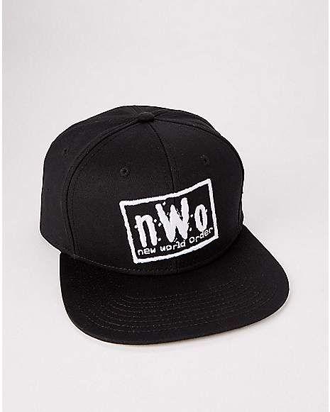 9aae4a34 NWO Snapback Hat - WWE | Snapback's & Hat's | Snapback, Snapback ...