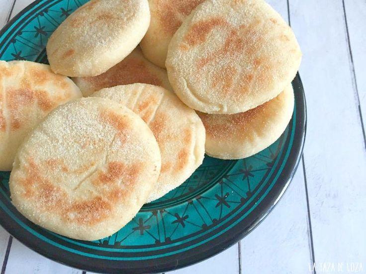 Receta de Batbout - pan marroquí hecho en sartén   Eureka Recetas