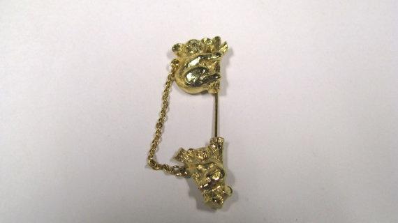 Vintage signed Avon Koala Bear Lapel Pin or by VermontJewelryShop, $8.99