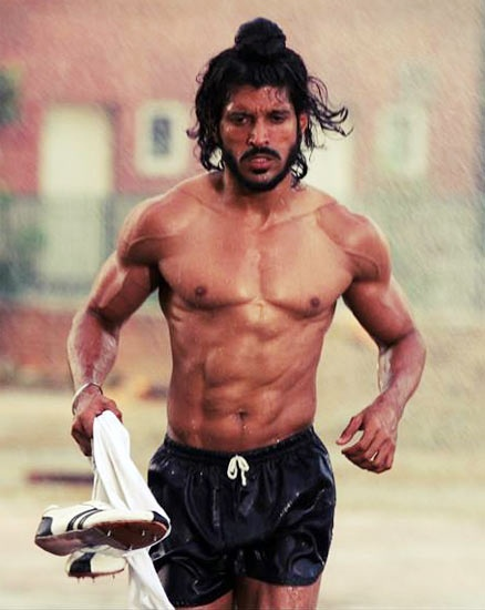 Character: Vijoy  Inspiration Actor/Model: Farhan Akhtar's Milkha Singh
