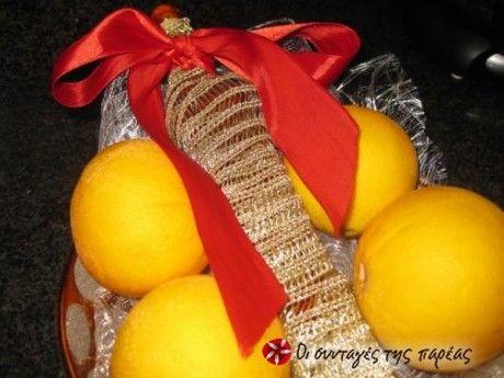 Σπιτικό λικέρ πορτοκάλι