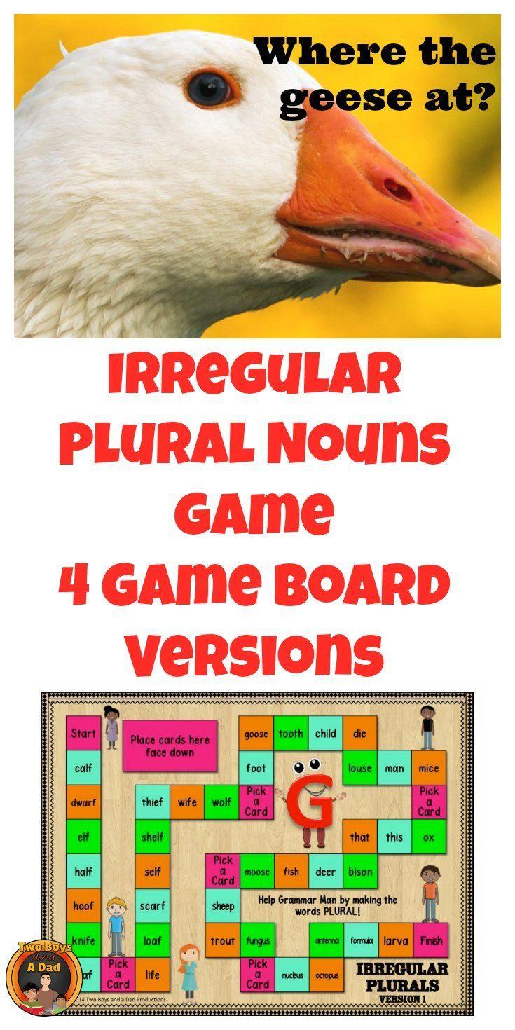 Workbooks making words plural worksheets : Best 25+ Irregular plurals ideas on Pinterest | Irregular plural ...