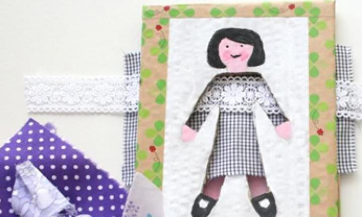 Make a dress-up doll game