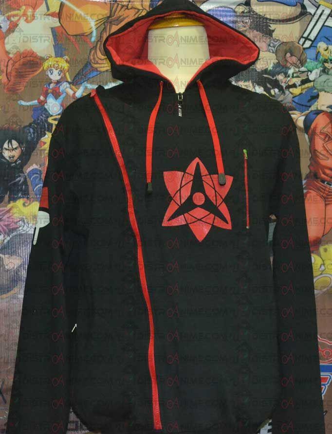 Jual Jaket Hoodie Double Zipper Susano'o Sasuke Uchiha - DistroAnime.com