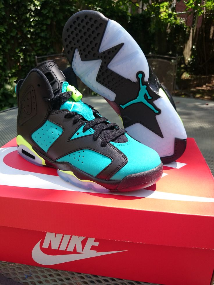 Shoe game. See more. ( Size 5y - 7y ) Jordan 'Turbo Green' 6's · Shop With  Deadstock