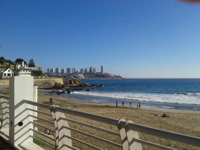 Playa Amarilla Concon Chile