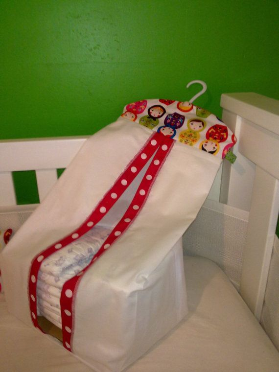 Make a Nappy Stacker Diaper Hanger Tutorial PDF by MadeByBecky