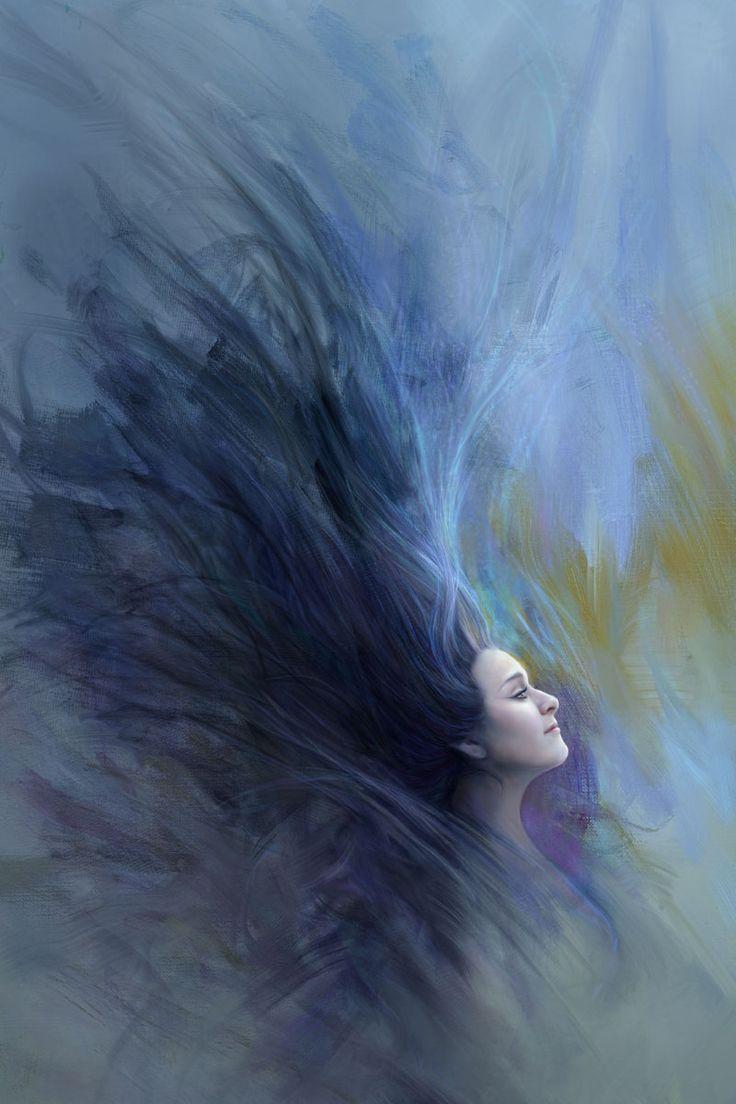Paint program – Corel Painter 2015 - Heather Michelle Chinn, Luna