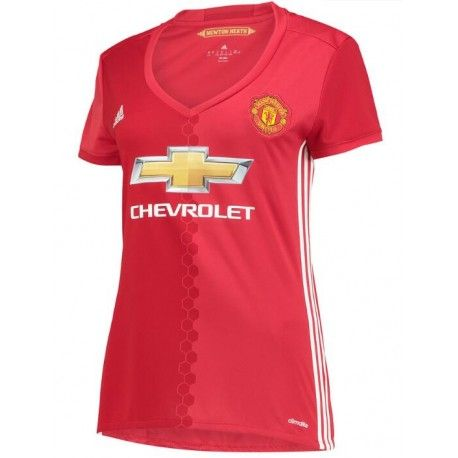Camiseta del Manchester United para Mujer Home 2016 2017