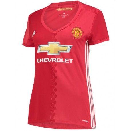 Maillot Manchester United Femme 2016-2017 Domicile