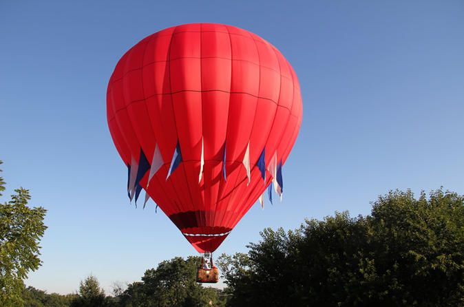 Philly Skyline and Chester County Hot Air Balloon Ride