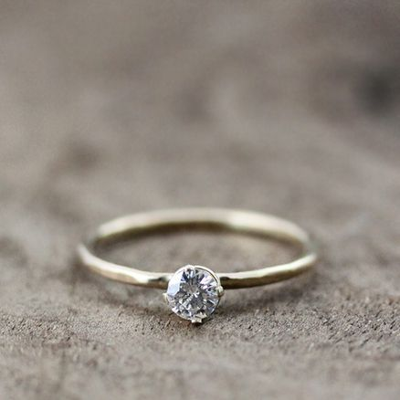25 best ideas about promise rings on pinterest wedding ring simple promise rings and delicate engagement ring - Simple Wedding Rings For Her