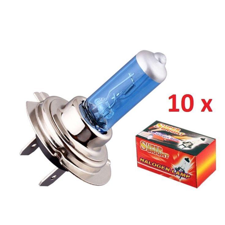 10x H7 12v 55w Halogen Car Headlight Headlamp Bulb BRAND NEW 10X