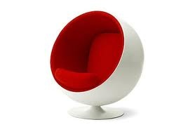 Ball chair by Aarnio