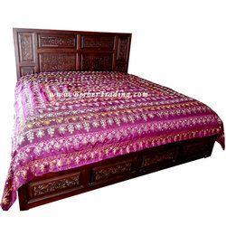Sultana Palatinate Purple Bedspread