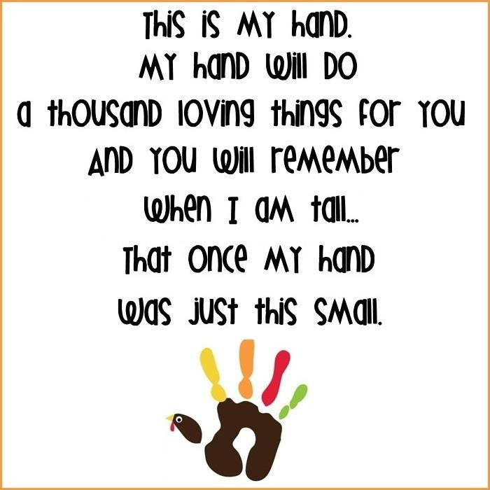Handprint art - i love this!....except the turkey has got to go!