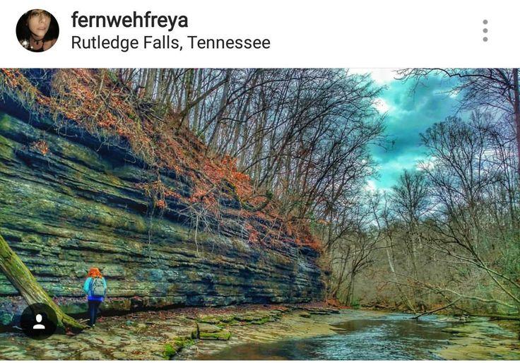 Framed 8 x 10 Photo Print- Rutledge Falls, Manchester, Tennessee by FernwehFreya on Etsy