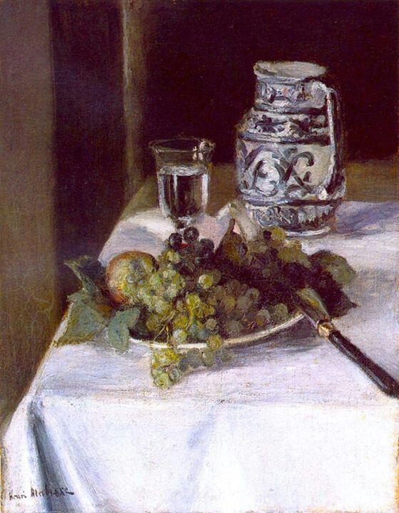 Henri Matisse - 1896, Still LIfe with Fruit