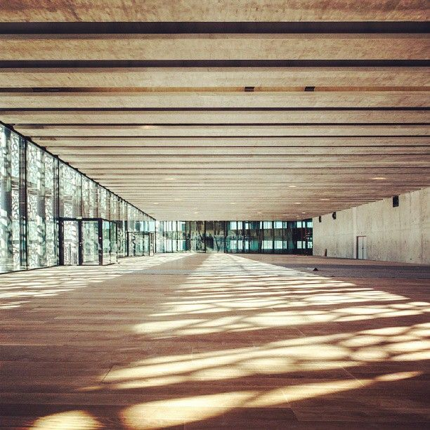 Column-free museum spaces, impossible? #MuCEM's technical precision proves you wrong! #Lafarge #Ductal #concrete #Ricciotti #architecture #mp2013 #Marseille
