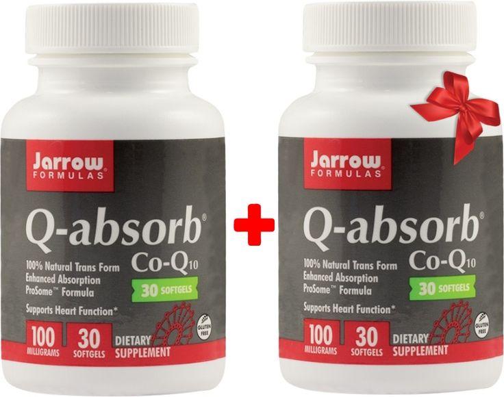 Q-absorb (Coenzima Q10) 100mg - 50cps - Acum 1+1 Gratis! Profitați de această ofertă!