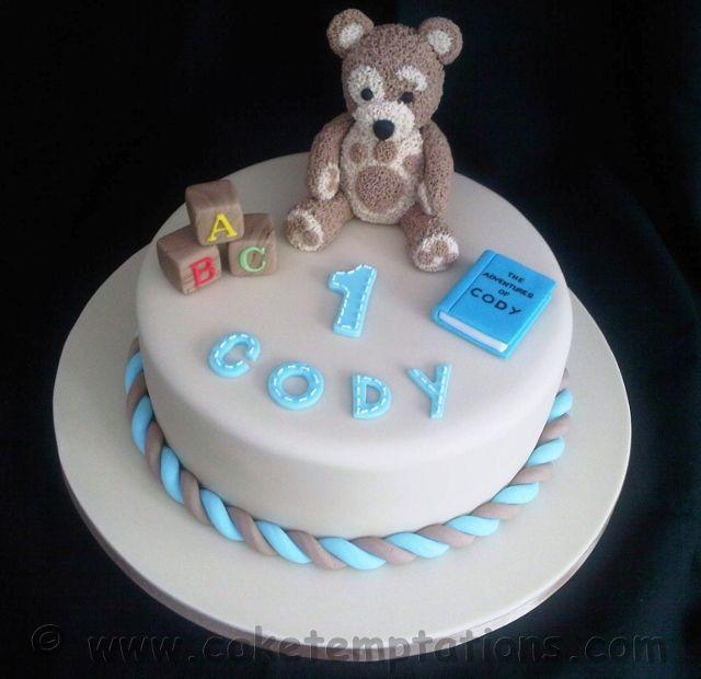 Childrens Cakes - Little Charley Bear Cake