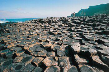Calçada dos Gigantes, Irlanda do Norte.