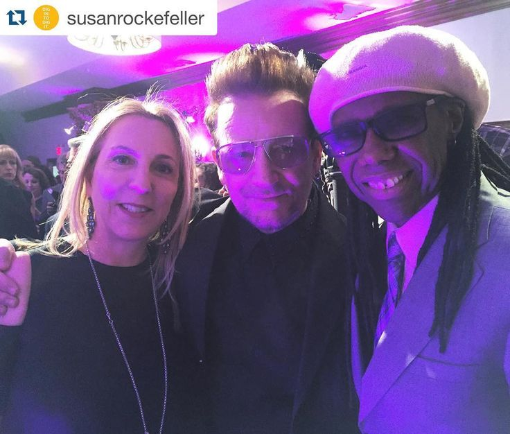 #Repost @susanrockefeller ・・・ Honoring #bono alongside the incredible #nilerodgers at the #wearefamily foundation's 2016 #Celebration Gala! The We Are Family Foundation or #WAFF works to #create and #support programs that #inspire and #educate people about mutual #respect, #understanding, and #appreciation of #culturaldiversity while striving to solve global problems. #u2 #protectwhatisprecious #globalfamily #newyorkcity