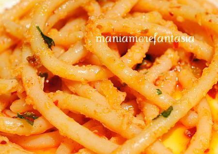 Pasta con la 'nduja Nduja spicy spreadable salami