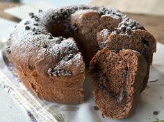Ciambella di pan brioche al cacao con nutella e mascarpone, soffice e golosa, ideale per colazione e merenda, una base al cacao ed un ripieno gustoso