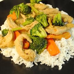 Chicken Stir Fry: made this tonight. 4 out of 5 stars.  Easy to make with common items on hand.