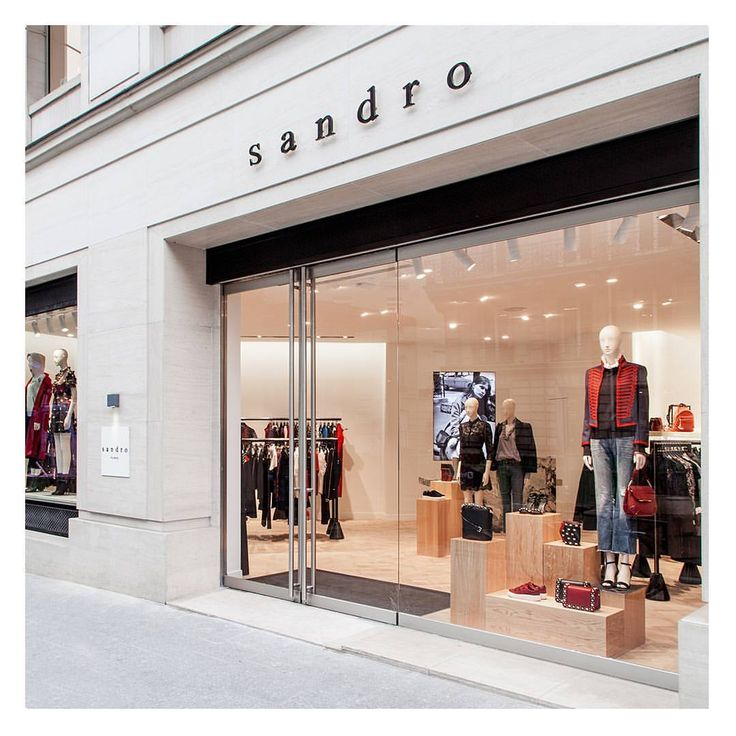 "SANDRO BOUTIQUE, Rue François Ier, Paris, France, ""We Serve Everyone Only!"", pinned by Ton van der Veer"