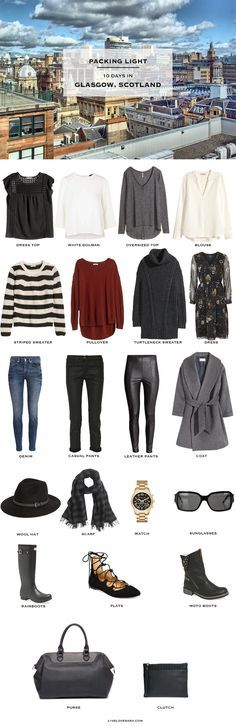 what to wear in scotland -