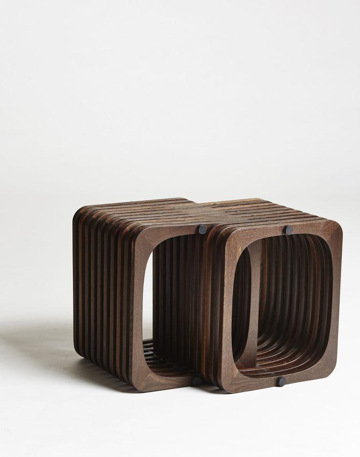 Two in one repetition in smoked oak. #create #furniture http://www.kjeldtoft.com/