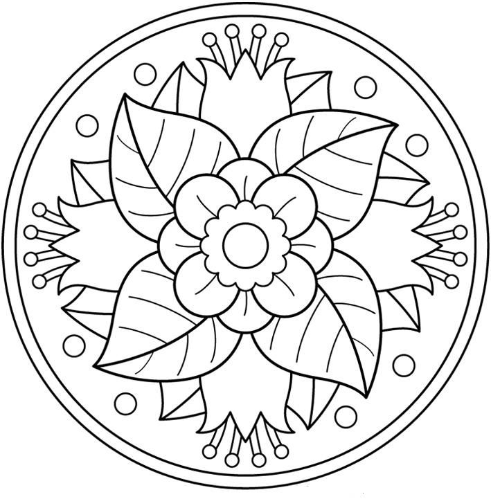 page of printable mandalas...great coloring tool for counseling