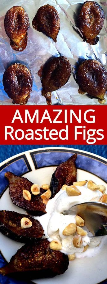 Roasted figs is my favorite recipe to make with fresh figs! When fresh figs are in season, I always buy them and make these! Roasted figs are so easy to make and taste amazing!