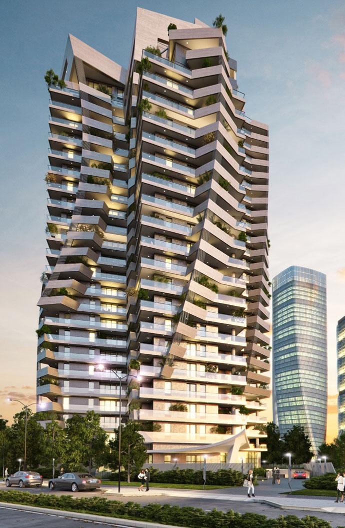 CityLife - Park Tower già Torre Arduino - Daniel Libeskind