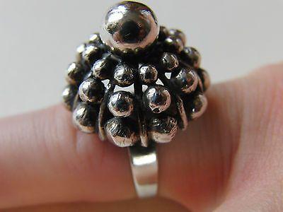 Erik Granit, modernist sterling silver ring, 1969.   eBay.com