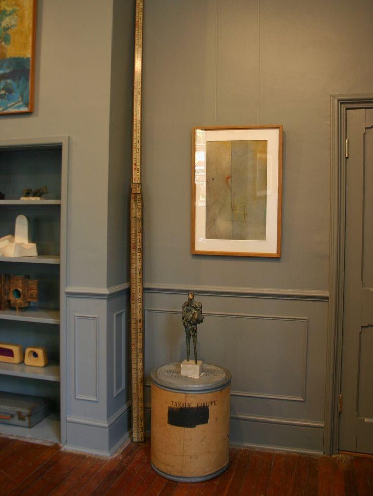 Andelli Art gallery in Wells, Somerset with Ernst Eisenmayer bronze and Caziel