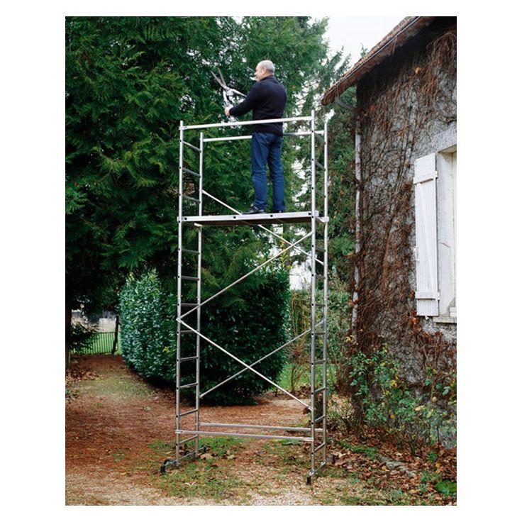 First 5 Presto 4.43m (14ft6) Working Height DIY Aluminium Scaffold