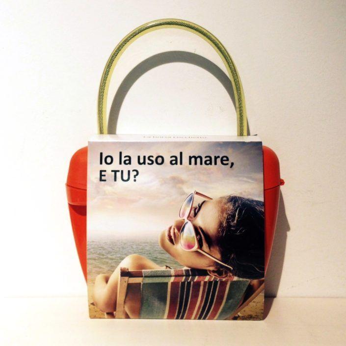 Look-At-One Borsa Lucchetto Arancione