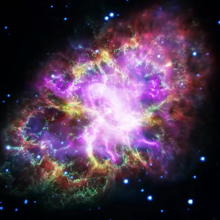 88 отметок «Нравится», 3 комментариев — Amo La Astronomía Y La Física (@astronomiafisica) в Instagram: «La nueva foto (primera imagen) de la nebulosa del cangrejo que se realizó con la colaboración de 5…»