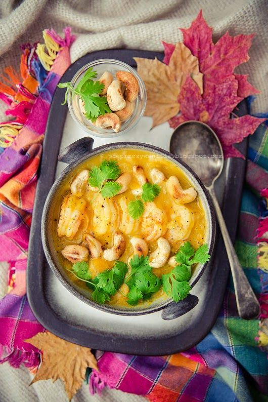 Shrimp and cashews curry by Pieprz czy Wanilia
