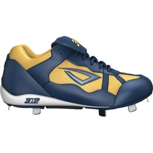 Mens 3N2 Pro Baseball Cleats Blue Leather - ONLY $60.45