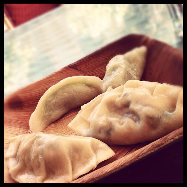 Mushroom and Veg Dumplings from Happy Little Dumplings Bar