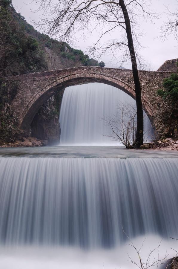 Palaiokaria Waterfall - Trikala, Greece