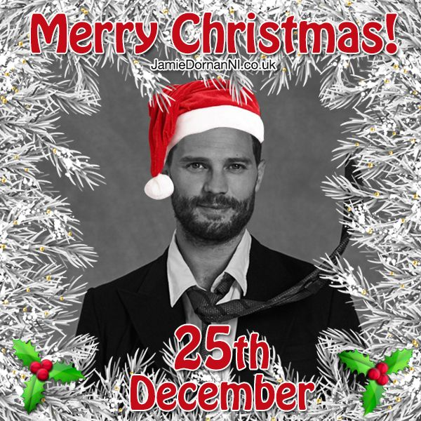 Day 25 of our Jamie Dornan  countdown to Christmas! The Big Day is here! Watch the special Advent video here: https://youtu.be/iCVZdG-pi-Q  www.JamieDornanNI.co.uk